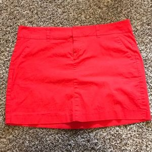 Red Mini Skirt with Pockets 🙀